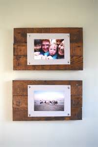 Painting Ideas For Bedroom diy rustic scrap wood picture frames spotlight favorite photos