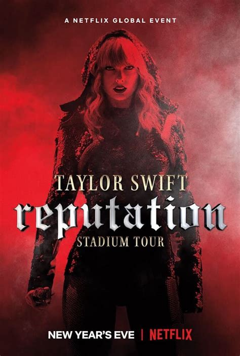 taylor swift tour paris taylor swift reputation stadium tour movie poster 2019
