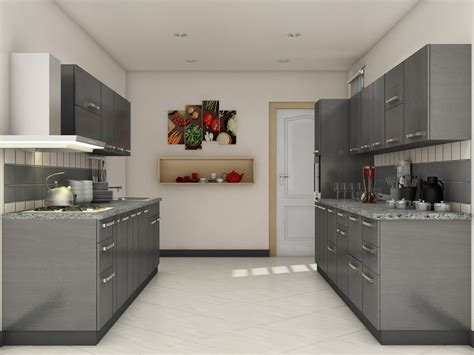 modular kitchen interiors 7 best parallel shaped modular kitchen designs images on