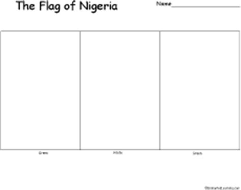 coloring pages nigerian flag