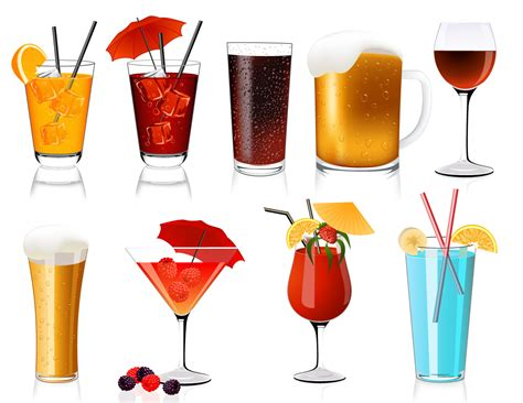drink vector cocktail drink glasses graphicskeeper com