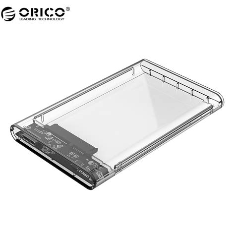 On Sale Orico Drive Enclosure 2 5 Inch Usb 3 0 2139u3 aliexpress buy orico 2139u3 drive enclosure 2 5 inch transparent usb3 0 drive