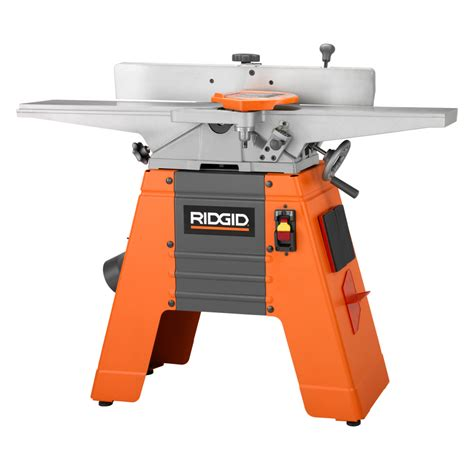 ridgid 6 6 1 8 in corded jointer planer jp0610 the