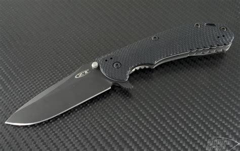 zero tolerance knifes zero tolerance 0560 s e flipper knife 3 75in black plain elmax zt0560blk hollow grind