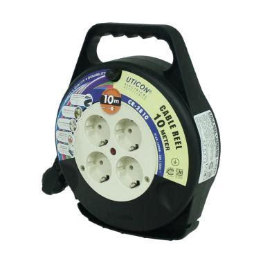 Stop Kontak Tipis 2 Lubang Uticon Ori kabel roll 5m 10m 15m terbaru ori harga promo