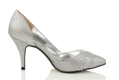 Silberne Hochzeitsschuhe by Silver Shoes For Your Prom And Wedding More Shoes