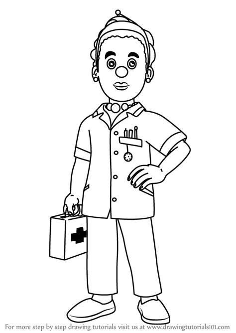 helen doodle how to draw a learn how to draw helen flood from fireman sam fireman