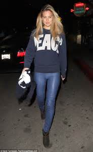 bar refaeli steps out without make up daily mail online
