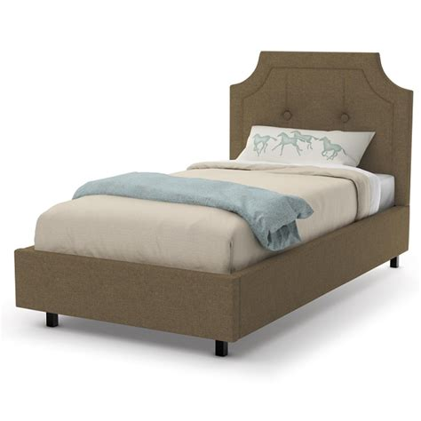 twin size platform bed walton upholstery twin size platform bed by amisco 12512 39