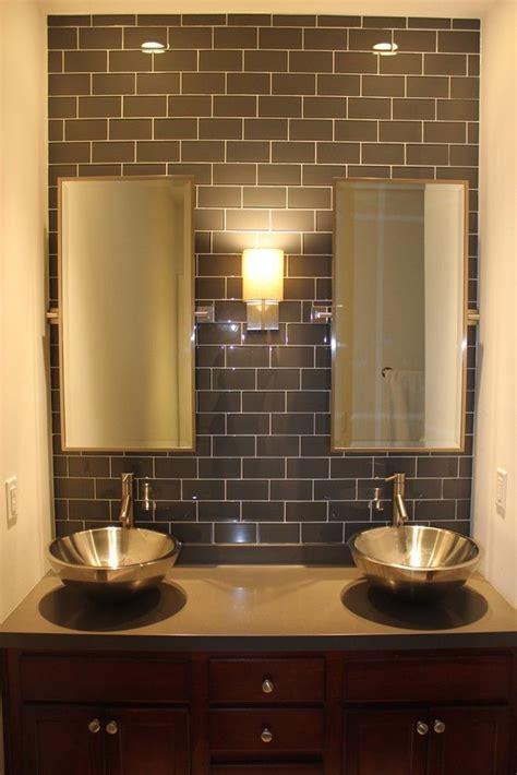 surf glass subway tile 3x6 for backsplashes showers more maybe for our kitchen backsplash loft ash gray polished
