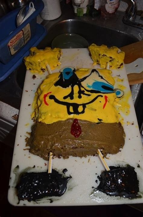 Baking Decorating by 25 Hilarious Cake Fails Pleated