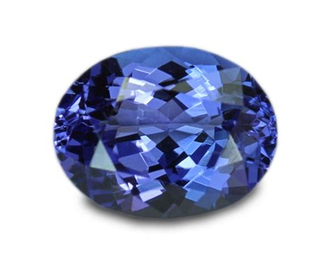 2 41 carats tanzanite gemstone oval ebay