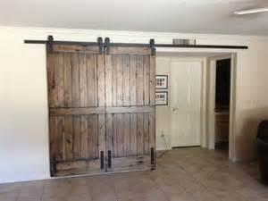 how to install sliding barn door