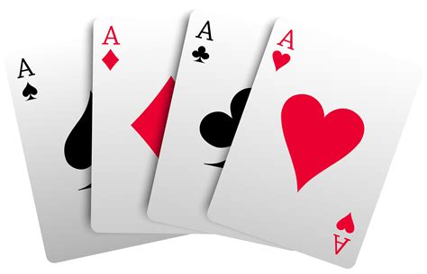 Video Gift Card - 4 aces cards png clipart best web clipart