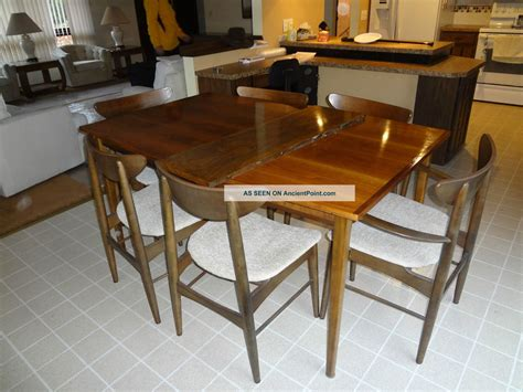 antique dining table modern chairs mid century modern dining table vintage mid century modern
