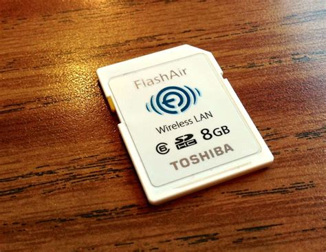 Toshiba Flashair Wifi Sd Card Eye Fi Sd R008gr7w6 Class 6 8gb toshiba flashair sd wifi card sends pics direct from