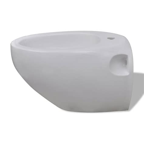 bidet set vidaxl co uk wall hung toilet bidet set white ceramic
