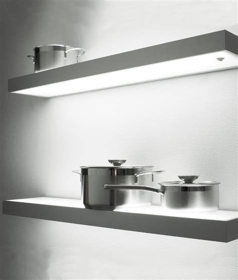 Led Shelf Lights by Floating Illuminated Led Box Shelves