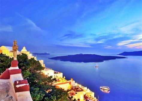Ocean Santorini Greece Landscape Full HD Wallp #18059 Wallpaper computer best website