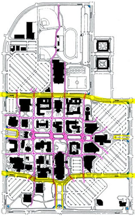 uco parking map uco cus map