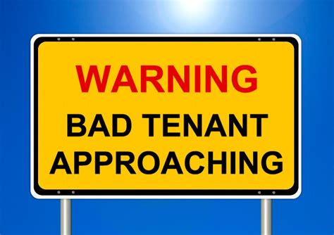 E Renter Background Check Top 5 Bad Tenant Warning Signs