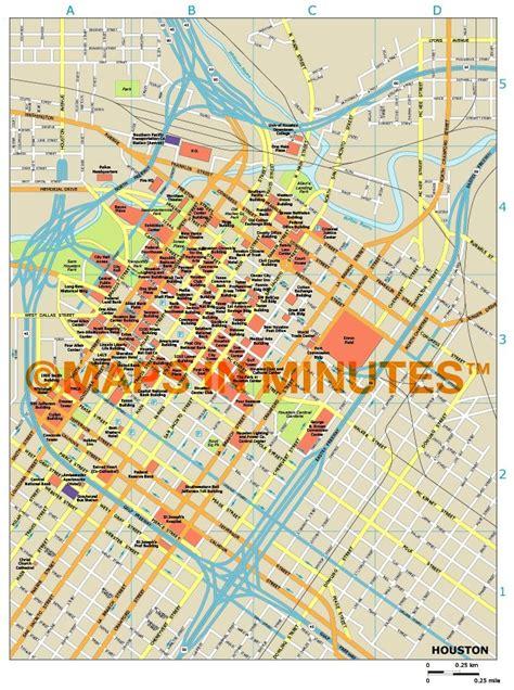 houston city map pdf royalty free houston illustrator vector format city map