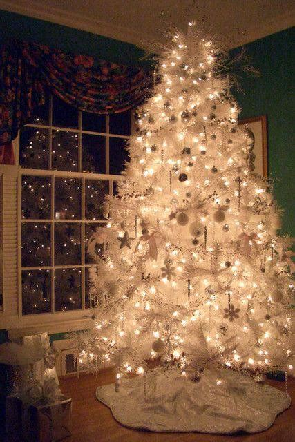 decoraci 243 n 193 rbol de navidad en blanco el blog de