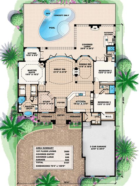 house plans with great rooms a true great room house plan 66226we architectural