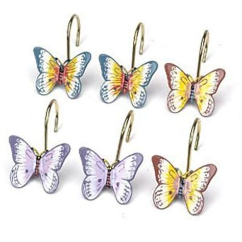 butterfly curtain hooks butterfly shower curtain hooks home decor for the home