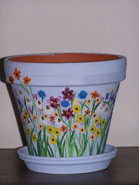 Painting Garden Pots Ideas 25 Best Ideas About Painted Flower Pots On Painted Plant Pots Painting Clay Pots