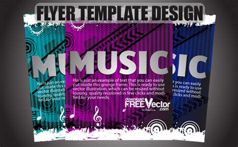 cool flyer templates creative flyer templates free images