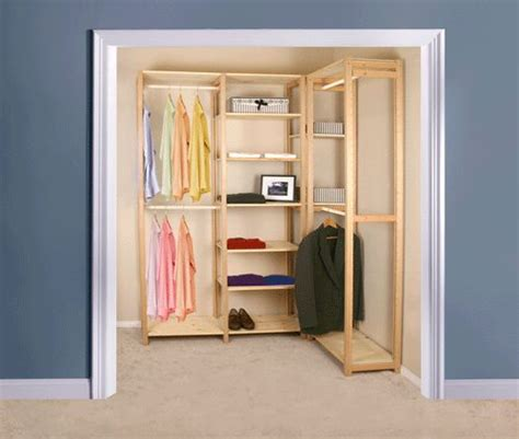 1000 ideas about wood closet organizers on