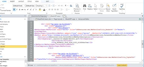 layout zone sharepoint adding default web part in web part zone