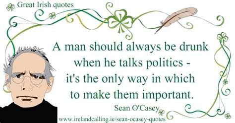 casey always talks about having wants a two story bedroom sean o casey s quotes ireland calling