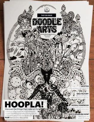 doodle enthusiast doodle arts magazine get your digital subscription