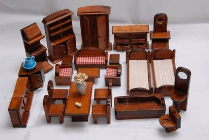 dollhouse s1 e 4 miniature dollhouse furniture one inch scalewood by