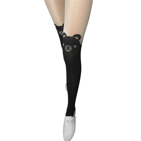 tato temporer stocking tato temporer model kitty kucing black