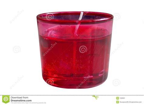 candela rossa candela rossa immagine stock immagine 132901