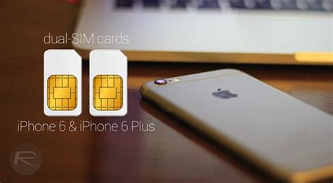 dual sim adapter for iphone 6 iphone 6 plus now available redmond pie