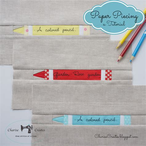Paper Tutorial - charise creates paper a crayon a beginning