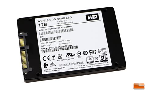 Wd Blue Ssd 1tb 2 5 7mm Sata wd blue 3d nand and sandisk ultra 3d 1tb ssd reviews
