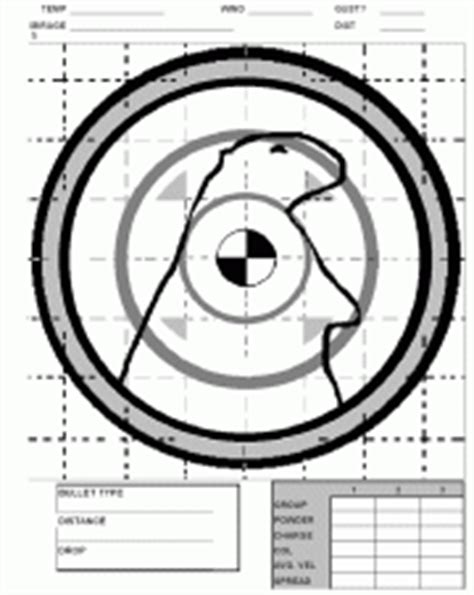 printable groundhog targets targets for download and printing within accurateshooter com