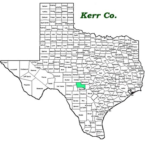 map of kerr county texas texas collection of indian arrowheads artifacts