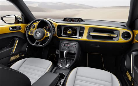volkswagen bug 2016 interior 2016 vw beetle dune concept pricing and release date