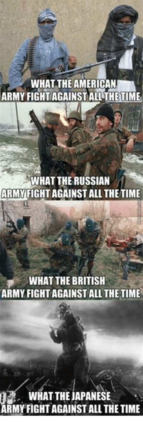Russian Army Meme - what the american army fight against allthe time what the