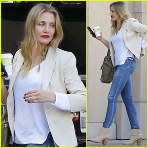 Cameron Diaz Steps Out With Purse by Benji Madden Photos News And Just Jared Page 3