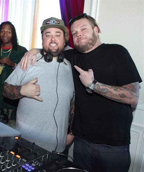 quot pawn stars quot tv star chumlee spins special guest dj set at