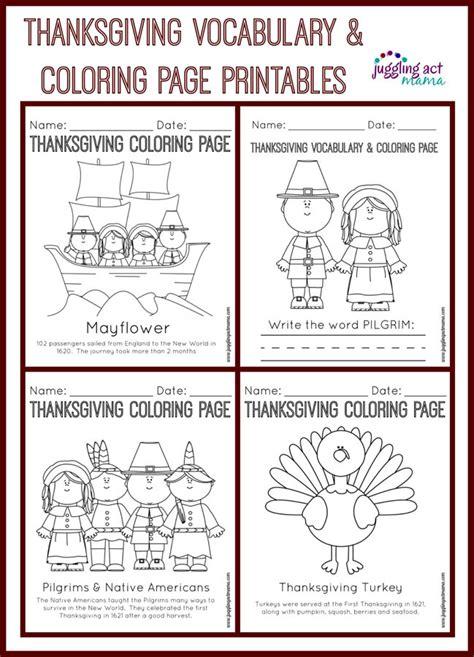 printable thanksgiving crafts  activities  kids