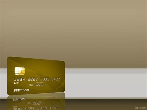 Credit Card Background Template Credit Card Background Free Powerpoint Templates Powerpoint Templates Backgrounds