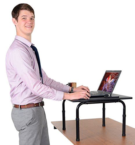 convert your desk to a stand up desk adjustable height standing desk convert your desk to a